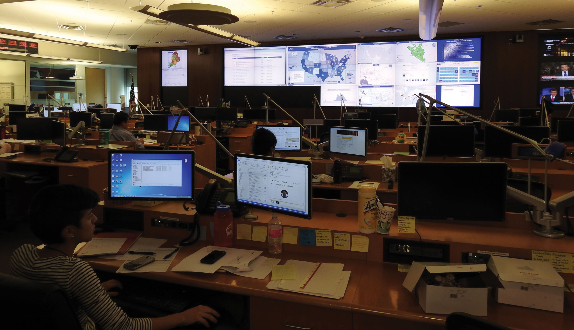 Image of CDC's Emergency Operations Center